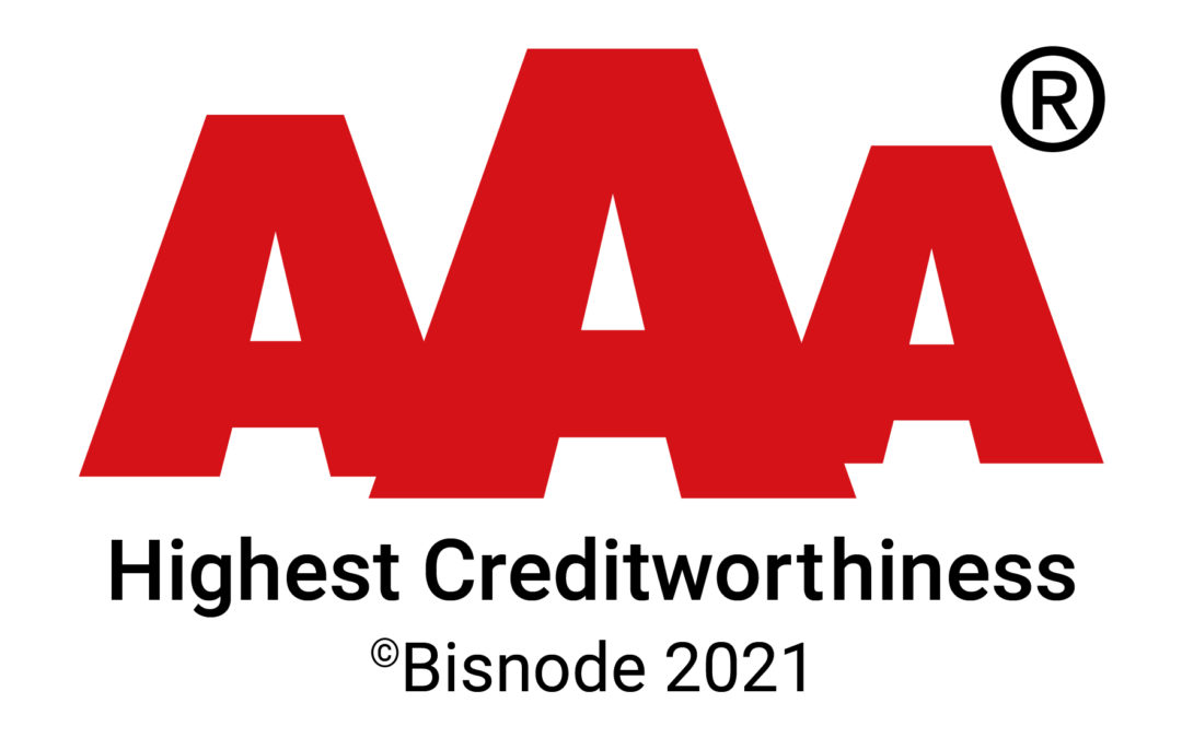 Markinvest has been granted the highest AAA credit rating and the class 1 Lowest Credit Risk certificate
